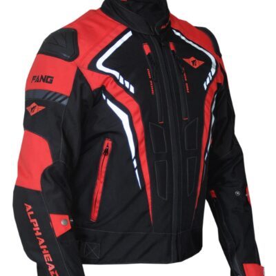 Motorcycle jacket Alphahead Fang Red